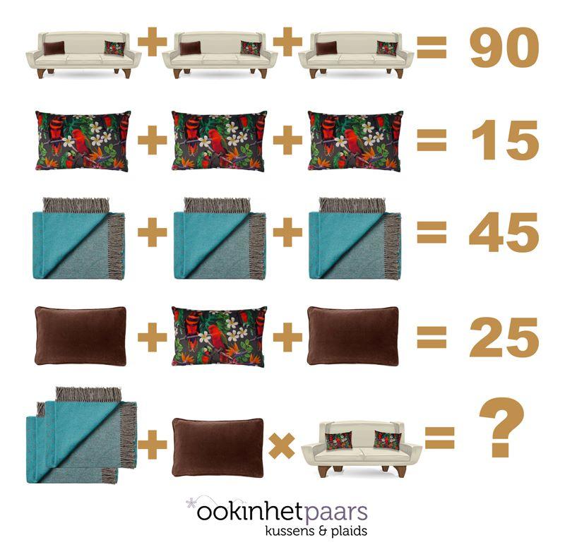 Ook in het paars math puzzle