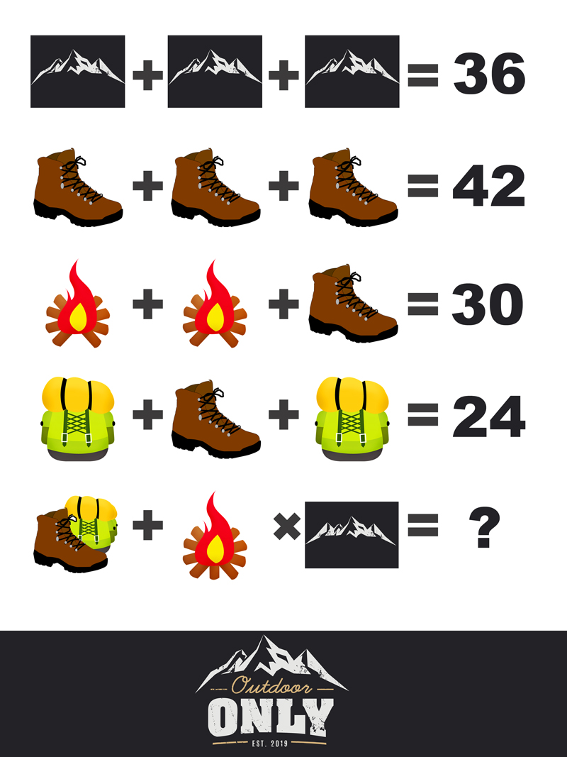 Mountain hicking logic puzzle