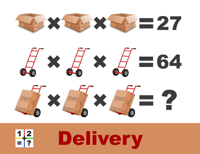 Delivery Puzzle explainer
