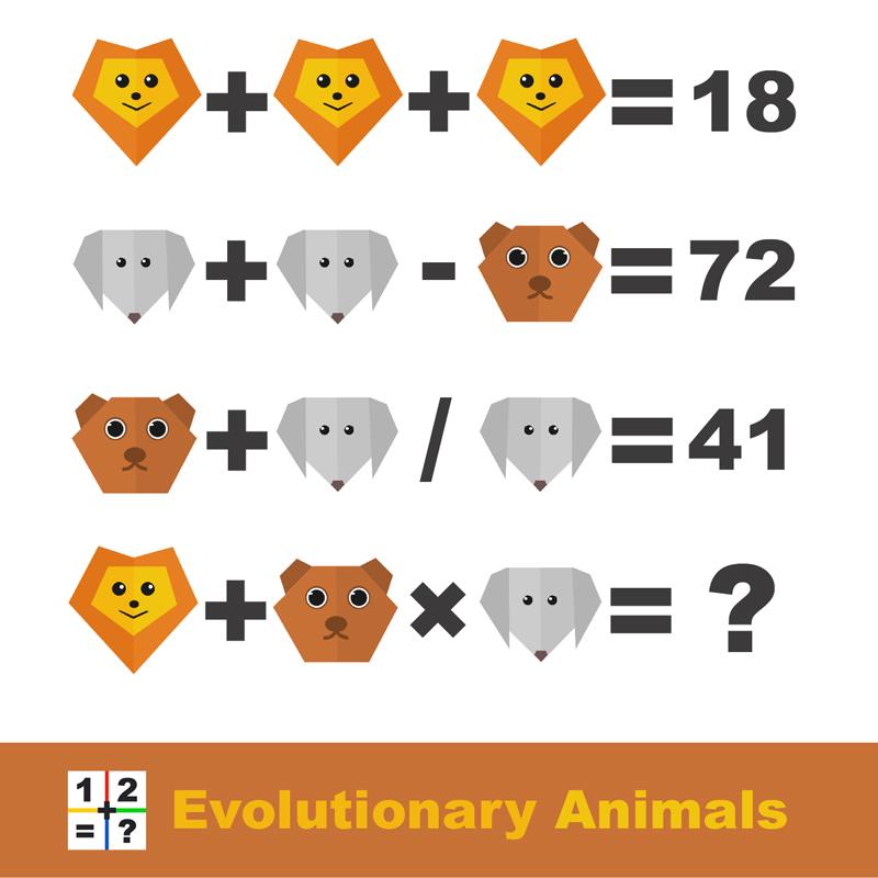 Evolutionary Animals Puzzle explainer