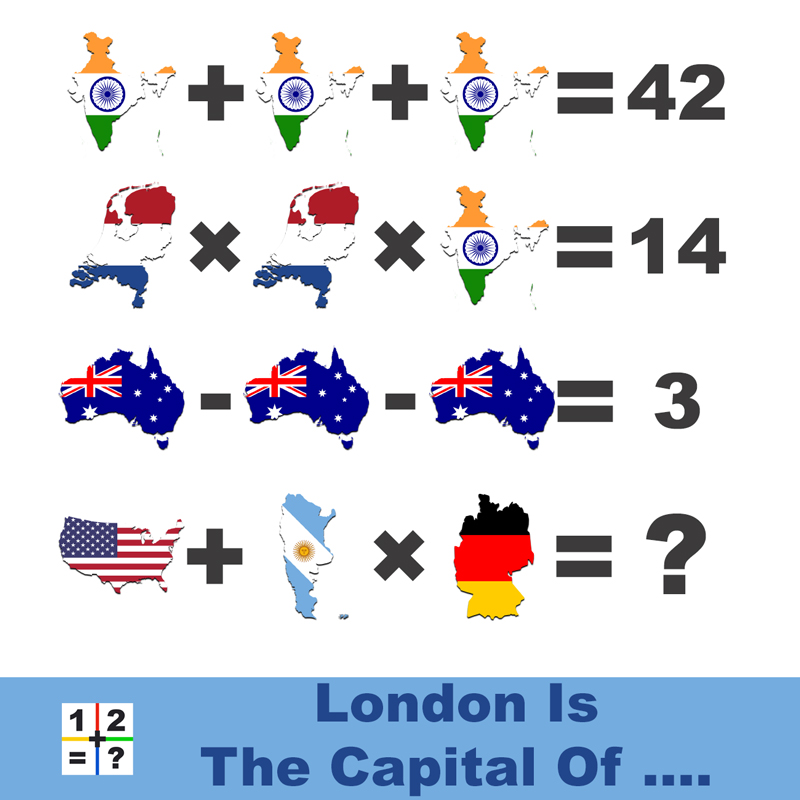 Capital math puzzle