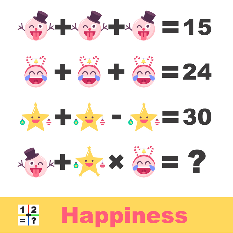 Happiness new years puzzle